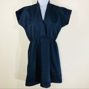 American Apparel Navy kimono dress size small